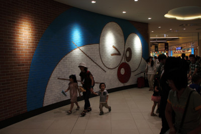 DORAEMON @ New Chitose Airport.
