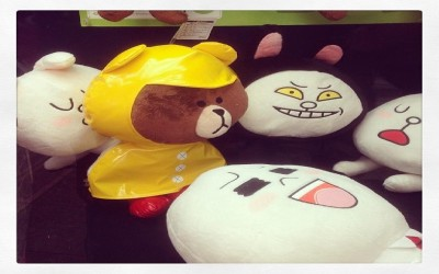 #line #cony #brown #japan #naver